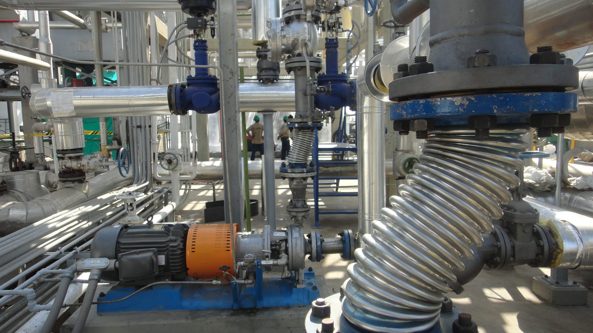 Cogeneration plant in Ajover Energy consulting and engineering